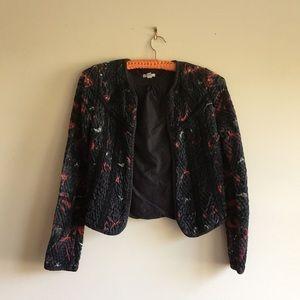 Ecoté Jacquard Quilted Jacket